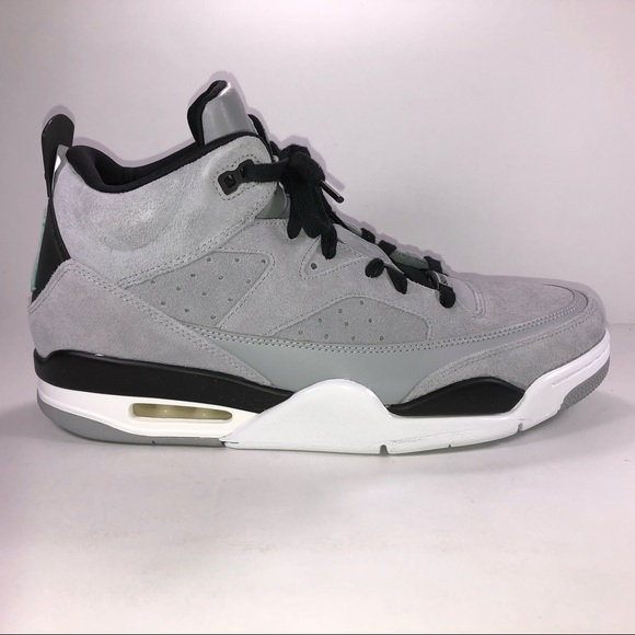 reputable site 6042f f2c60 Air Jordan Son Of Low Off Court Wolf Gray Sneakers